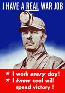 I Have a Real War Job