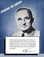 Speaking for America - Harry Truman