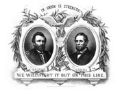 Presidential Poster of Republican Party Nominees