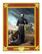 General Ulysses S Grant with Cannon (color)