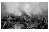 Battle of Gettysburg (digitally restored, black & white)