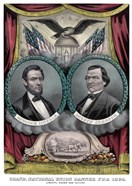 Digitally Restored 1864 Election Banner