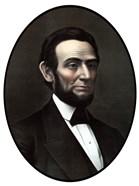 Vintage Civil War Era Artwork of President Abraham Lincoln