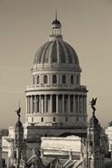 Cuba, Havana, Capitol Building, dawn