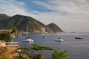 Dominica, Roseau, coastlines