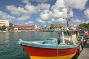 Fish Sellers at the Waterfront, Grande Terre, Guadaloupe, Caribbean