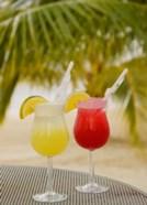 Cocktails on the Beach, Jamaica, Caribbean