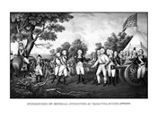 Surrender of British General John Burgoyne at Saratoga