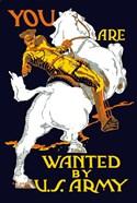 World War I U.S. Army Officer on Horseback
