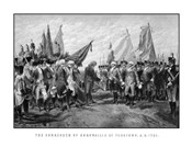 Surrender of British Troops - Revolutionary War