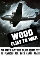 Wood Flies to War
