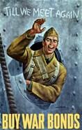 American Soldier Waving