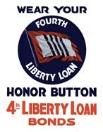 4th Liberty Loan Honor Button