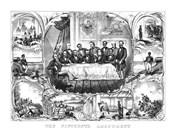 President Ulysses Grant Signing the 15th Amendment