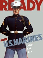 Marine Corps Recruiting Poster from World War II