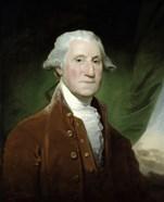 Digitally Restored Vector Painting of George Washington