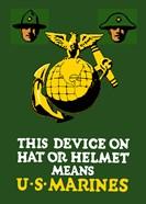 Marine Corps Emblem - World War I
