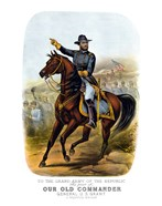 General Ulysses S Grant on Horseback