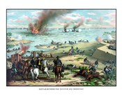 Naval Battle of the Monitor and The Merrimack