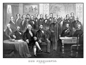 First Twenty-One Presidents Seated Together in The White House