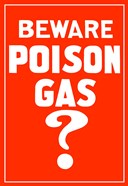 Beware Poison Gas (Vintage WWI)