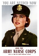 Female Officer of the US Army Medical Corps