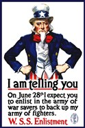 Uncle Sam Recruiting Poster from WWI