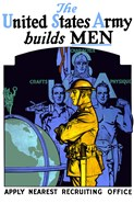 United States Army Builds Men