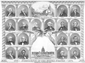 First Eighteen Presidents of The United States