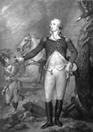 General George Washington at The Battle of Trenton