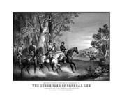 Meeting of Generals Robert E Lee and Ulysses S Grant