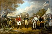 Surrender of British General John Burgoyne