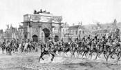 Napoleon I Reviewing His Troops, Paris, France