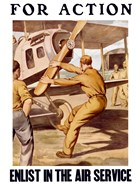 For Action - Enlist in the Air Service