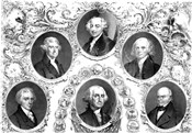 First Six Presidents of The United States