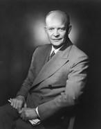 Presidential Portrait of Dwight D Eisenhower