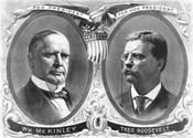 McKinley & Roosevelt Election Poster