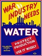 War Industry Needs Water
