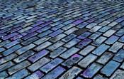 Blue Streets of Old San Juan, San Juan, Puerto Rico,