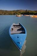 Puerto Rico, Guanica, Bahia de la Ballena bay, boats
