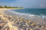 Waves, Coral, Beach, Punta Arena, Mona, Puerto Rico