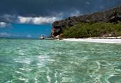 Pajaros beach in Mona Island, Puerto Rico, Caribbean
