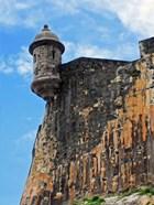 Watchtower, Fort San Felipe del Morro, San Juan, Puerto Rico,