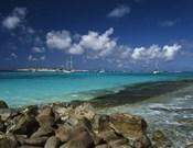 Orient Bay, St Martin, Caribbean