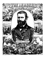 Ulysses S Grant in Military Uniform