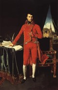 Napoleon Bonaparte in Red