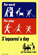 Three Squares a Day