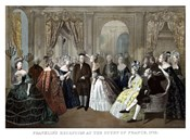 Benjamin Franklin's Reception by the French Court