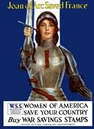 Joan of Arc - Vintage WWI