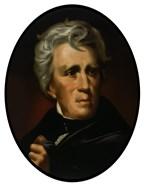 President Andrew Jackson (color portrait)
